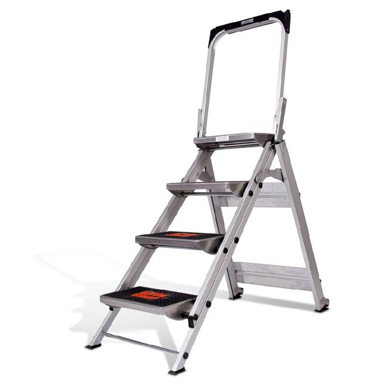 Fabulous Little Giant Brenta trap 4 treden met beugel - Ladder-Steiger EW19