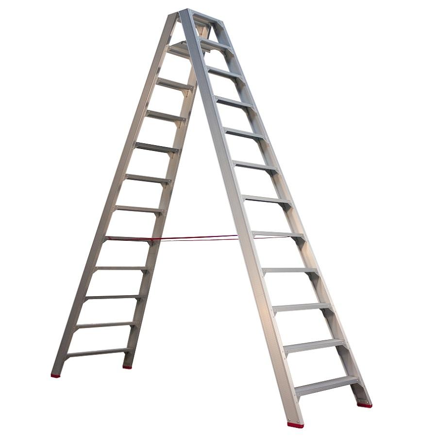 Little Jumbo Little Jumbo SuperPRO Stufen-Doppelleiter 2x12 Sprossen