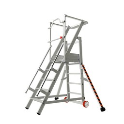 Tubesca Tubesca escalier de rayonnage 5 marches