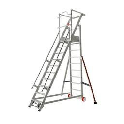 Tubesca Tubesca escalier de rayonnage 10 marches