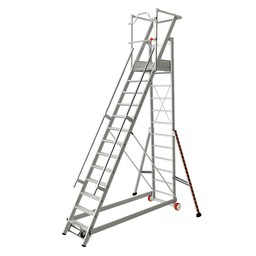 Tubesca Tubesca escalier de rayonnage 13 marches