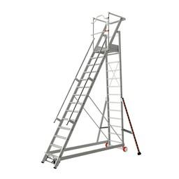 Tubesca Tubesca escalier de rayonnage 14 marches