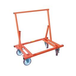 Mondelin Mondelin chariot porte plaques 4 roues pliable