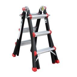 Das Ladders Yeti pro / BigOne Gelenk-Teleskopleiter 4x3