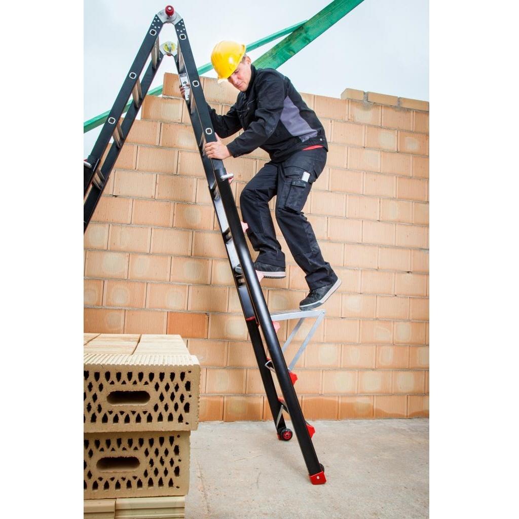 Das Ladders Yetipro - BigOne Gelenk-Teleskopleiter 4x3