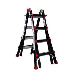 Das Ladders Yeti pro / BigOne Gelenk-Teleskopleiter 4x4