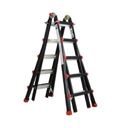 Das Ladders Yeti pro / BigOne Gelenk-Teleskopleiter 4x5