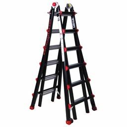 Das Ladders Yeti pro / BigOne Gelenk-Teleskopleiter 4x6