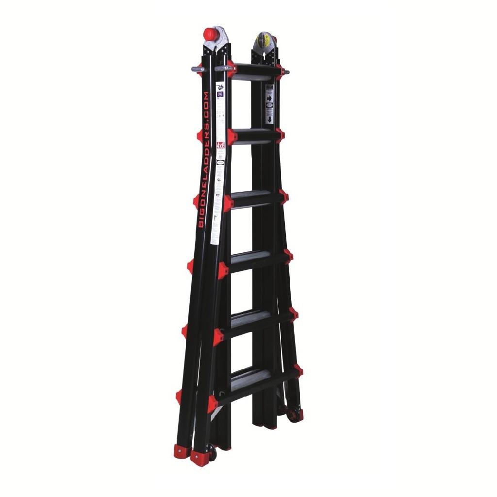 Das Ladders Yetipro - BigOne Gelenk-Teleskopleiter 4x6