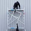 EuroScaffold Zimmerfahrgerüst Compact Modul 1+2+3+4 Arbeitshöhe 7,5 m