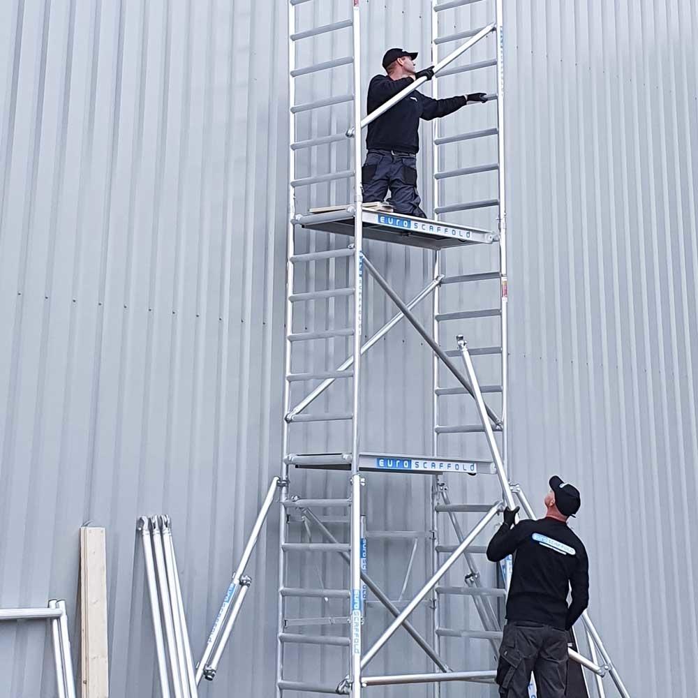 EuroScaffold Kamersteiger Compact module 1+2+3+4 werkhoogte 7,5 m