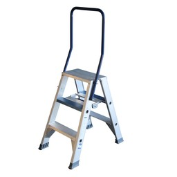ASC ASC Stufen-Doppelleiter 2 x 3 Stufen DT-3