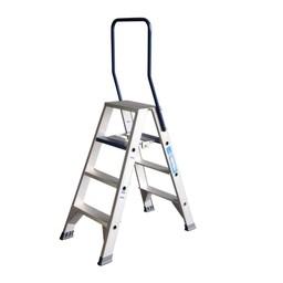 ASC ASC Stufen-Doppelleiter 2 x 4 Stufen DT-4