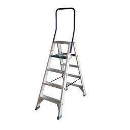 ASC ASC Stufen-Doppelleiter 2 x 5 Stufen DT-5