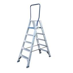 ASC ASC Stufen-Doppelleiter 2 x 6 Stufen DT-6