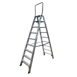 ASC ASC Stufen-Doppelleiter 2 x 9 Stufen DT-9