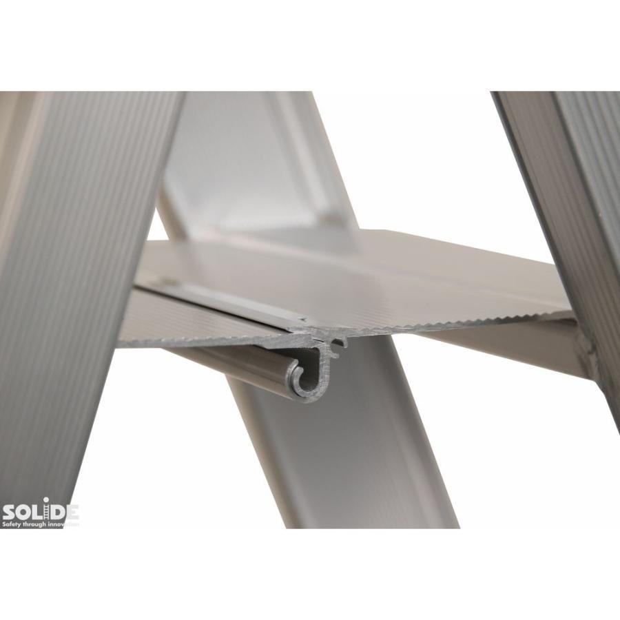 Solide Solide Stufen-Stehleiter beidseitig begehbar 2 x 2 Sprossen DT02