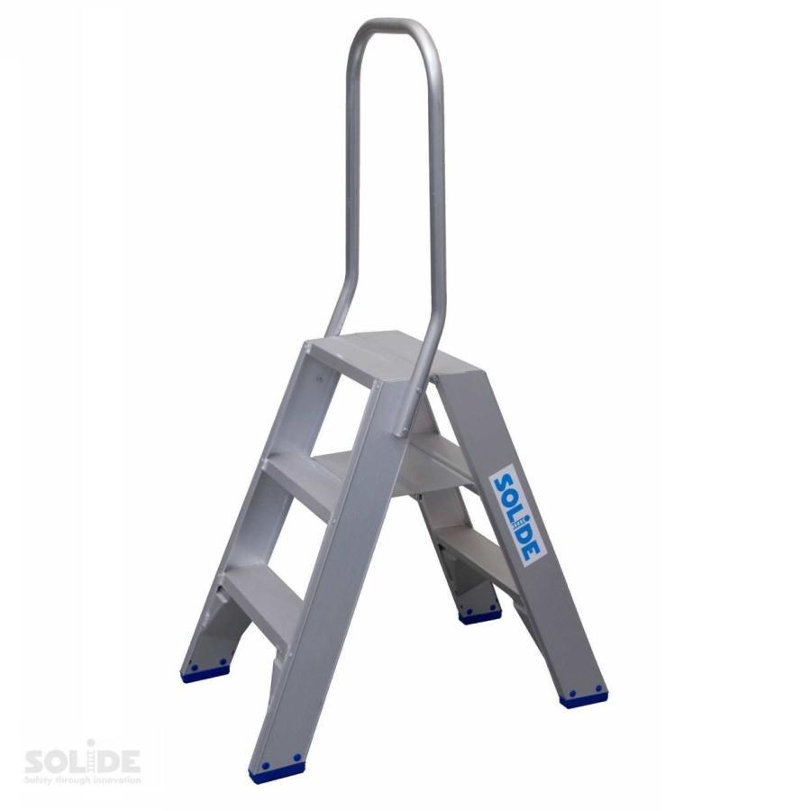 Solide Solide dubbele trap 2 x 3 treden DT03