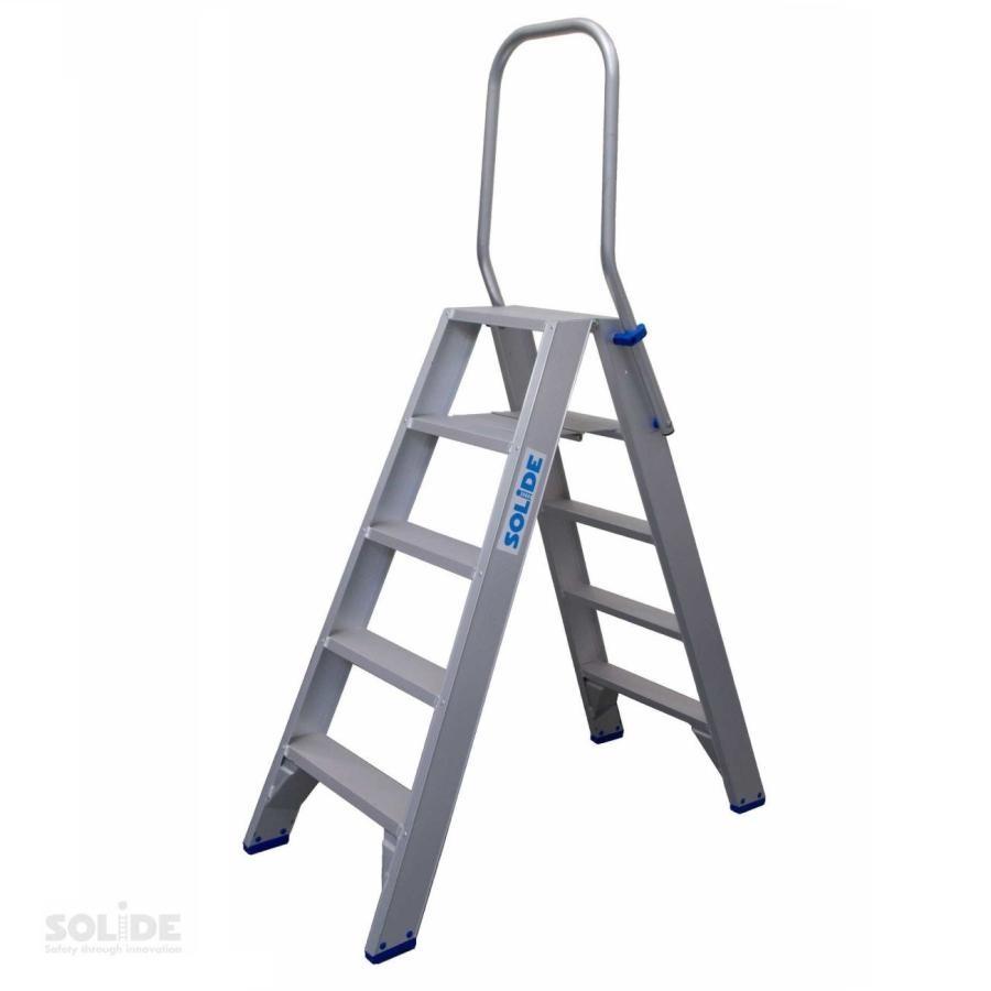 Solide Solide dubbele trap 2 x 5 treden DT05