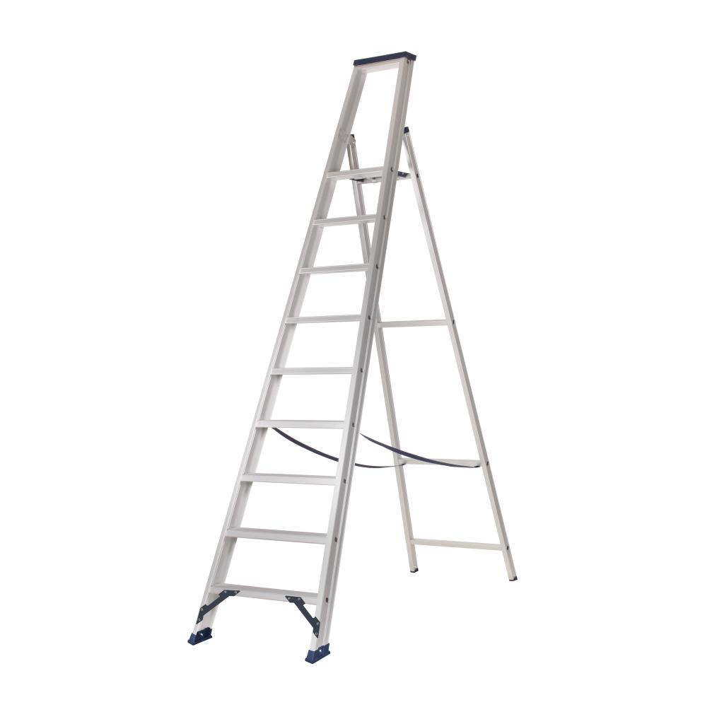 Das Ladders Das Hercules ano Stufen-Stehleiter 1 x 9  ET9A