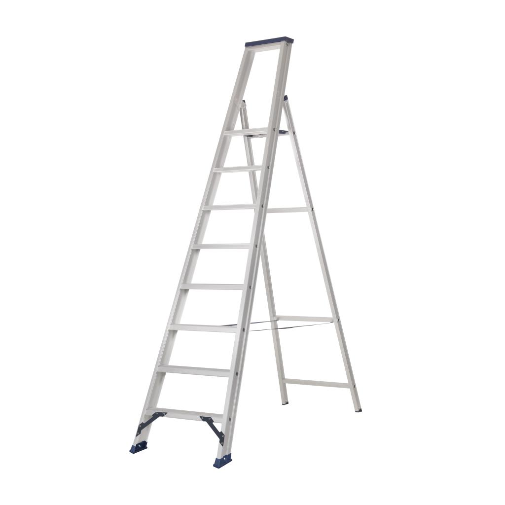 Das Ladders Das Hercules ano Stufen-Stehleiter 1 x 8 Stufen ET8A