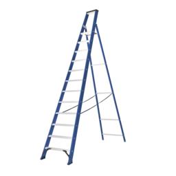 Das Ladders Das Hercules blue escabeau 12 marches ET12B
