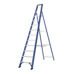 Das Ladders Das Hercules blue trapladder 10 treden ET10B