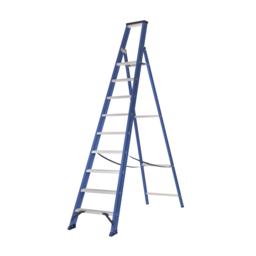 Das Ladders Das Hercules blue escabeau 9 marches ET9B