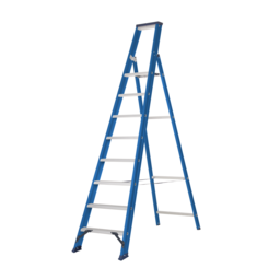 Das Ladders Das Hercules blue escabeau 8 marches ET8B