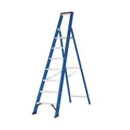 Das Ladders Das Hercules blue escabeau 7 marches ET7B