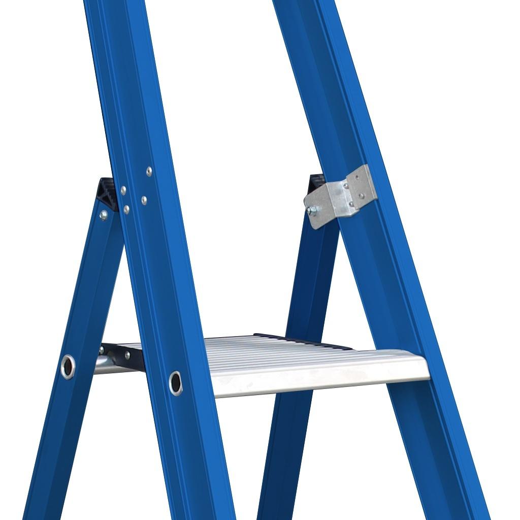 Das Ladders Das Hercules blue Aluminium-Stehleiter 7 Stufen ET7B