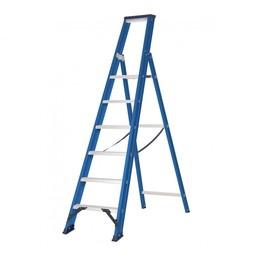 Das Ladders Das Hercules blue Aluminium-Stehleiter 6 Stufen ET6B