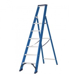 Das Ladders Das Hercules blue escabeau 6 marches ET6B