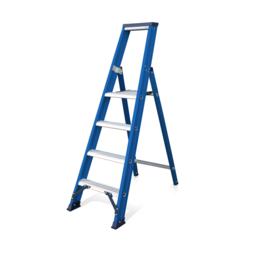 Das Ladders Das Hercules blue escabeau 4 marches ET4B