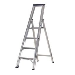 Das Ladders Das Premium Stufen-Stehleiter 4 Stufen PET4