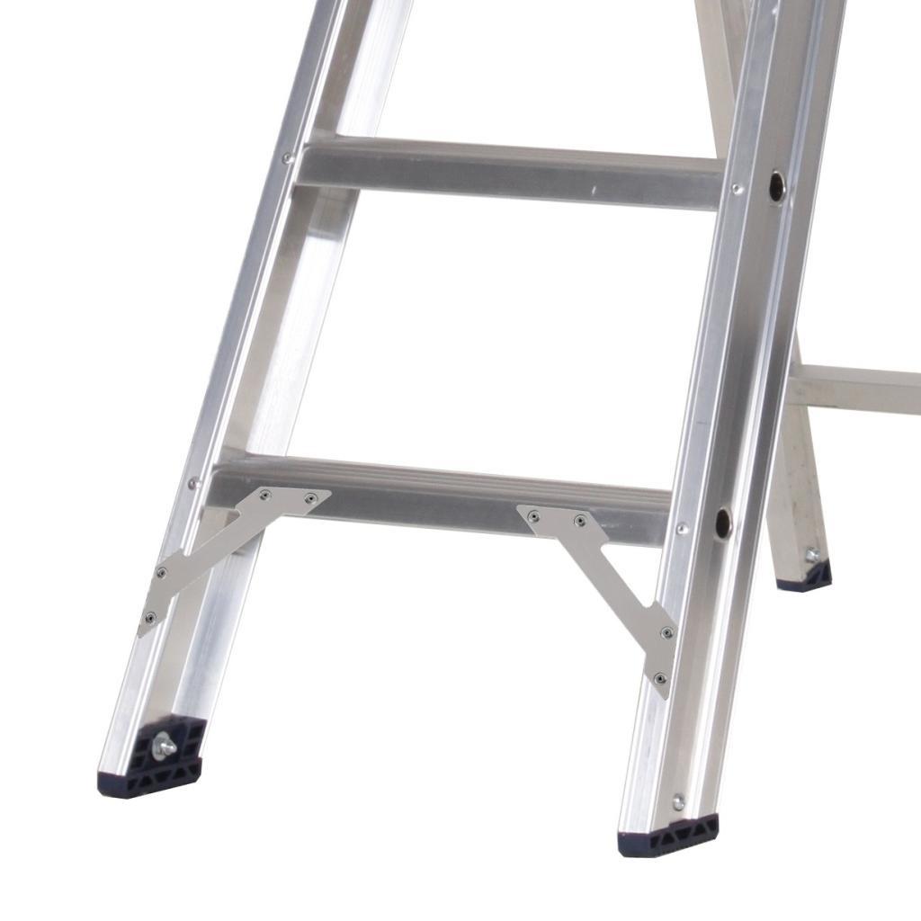 Das Ladders Das Premium Stufen-Stehleiter 8 Stufen PET8