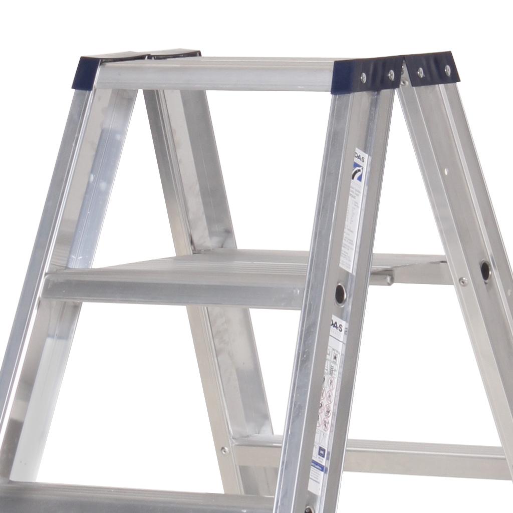 Das Ladders Das Premium dubbele trap 5 treden PDT5