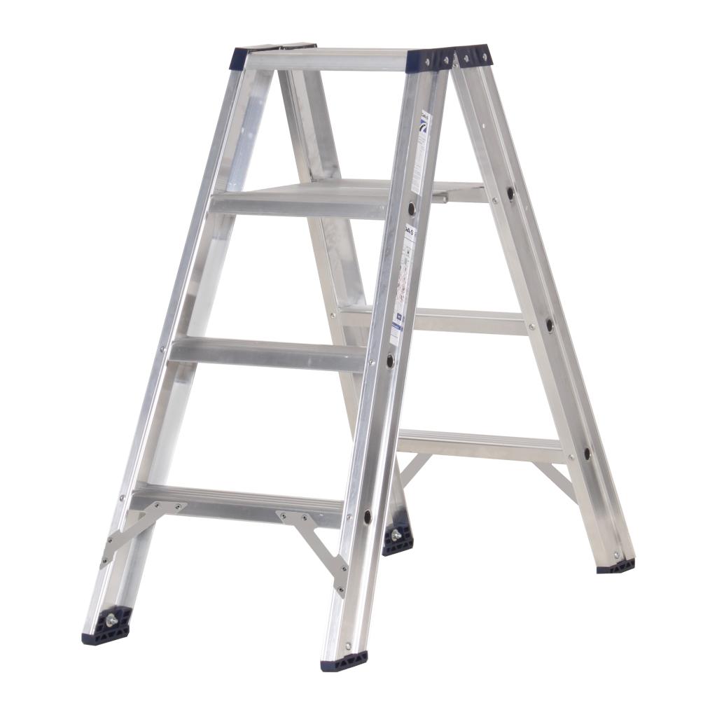 Das Ladders Das Premium dubbele trap 4 treden PDT4