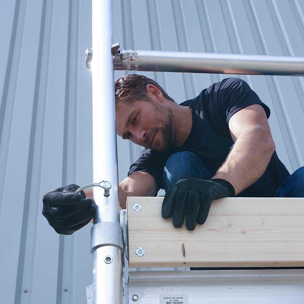 Rollgerüst 75-250 x 4,2 m Arbeitshöhe