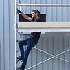 Rollgerüst 75-250 x 9,2 m Arbeitshöhe