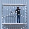 Rollgerüst 135-250 x 9,2 m Arbeitshöhe