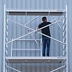 Rollgerüst 135-305 x 12,2 m Arbeitshöhe