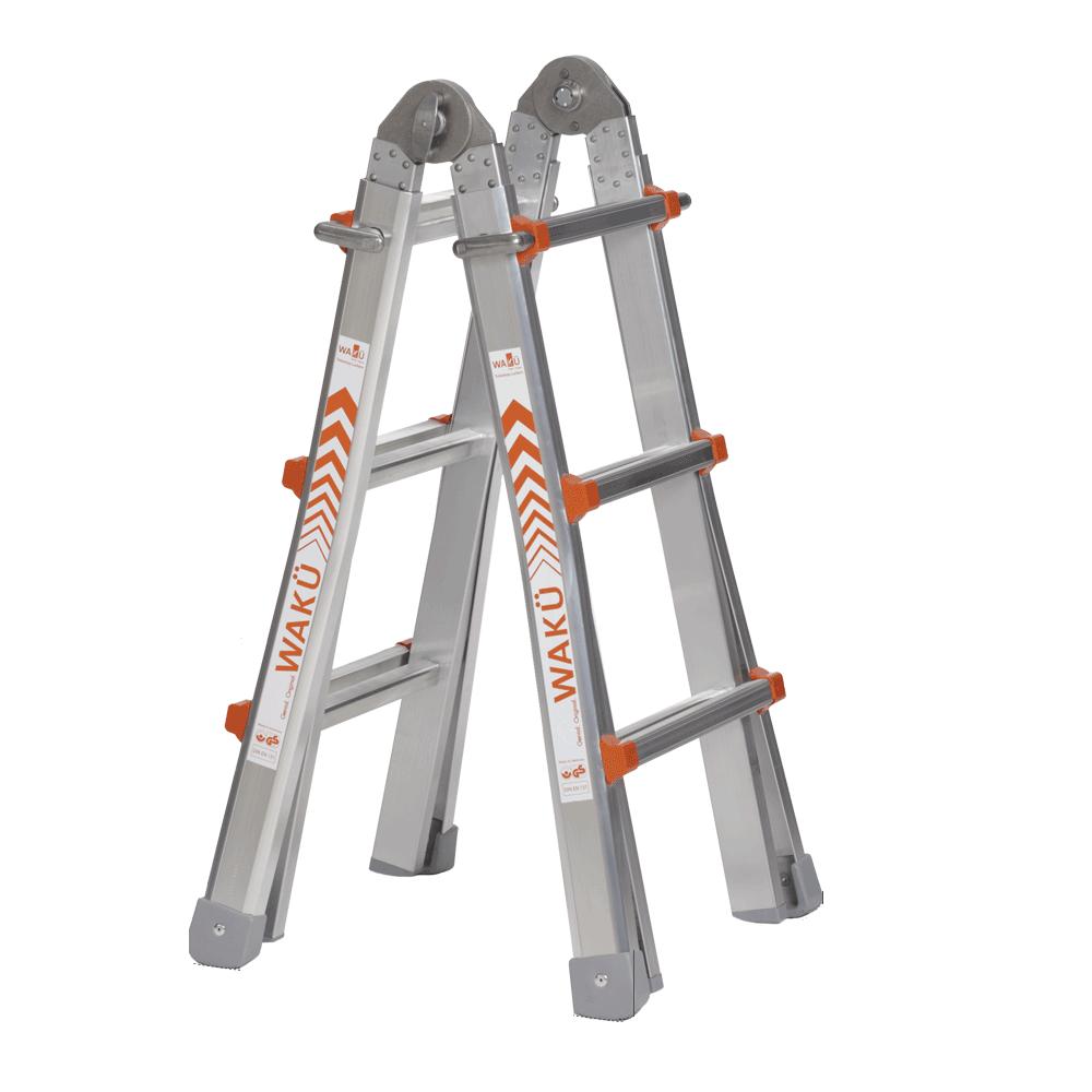 Wakü Waku 100 multifunctionele ladder 4x3