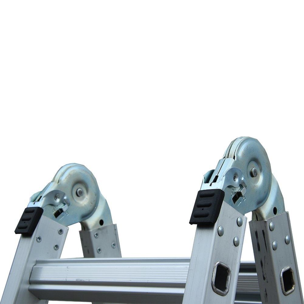Alumexx Telescopische vouwladder 4x4 sporten