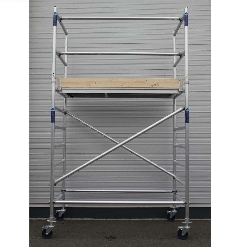 Alumexx Rollgerüst Basic-Line Arbeitshöhe 4,3 m (Typ 0)