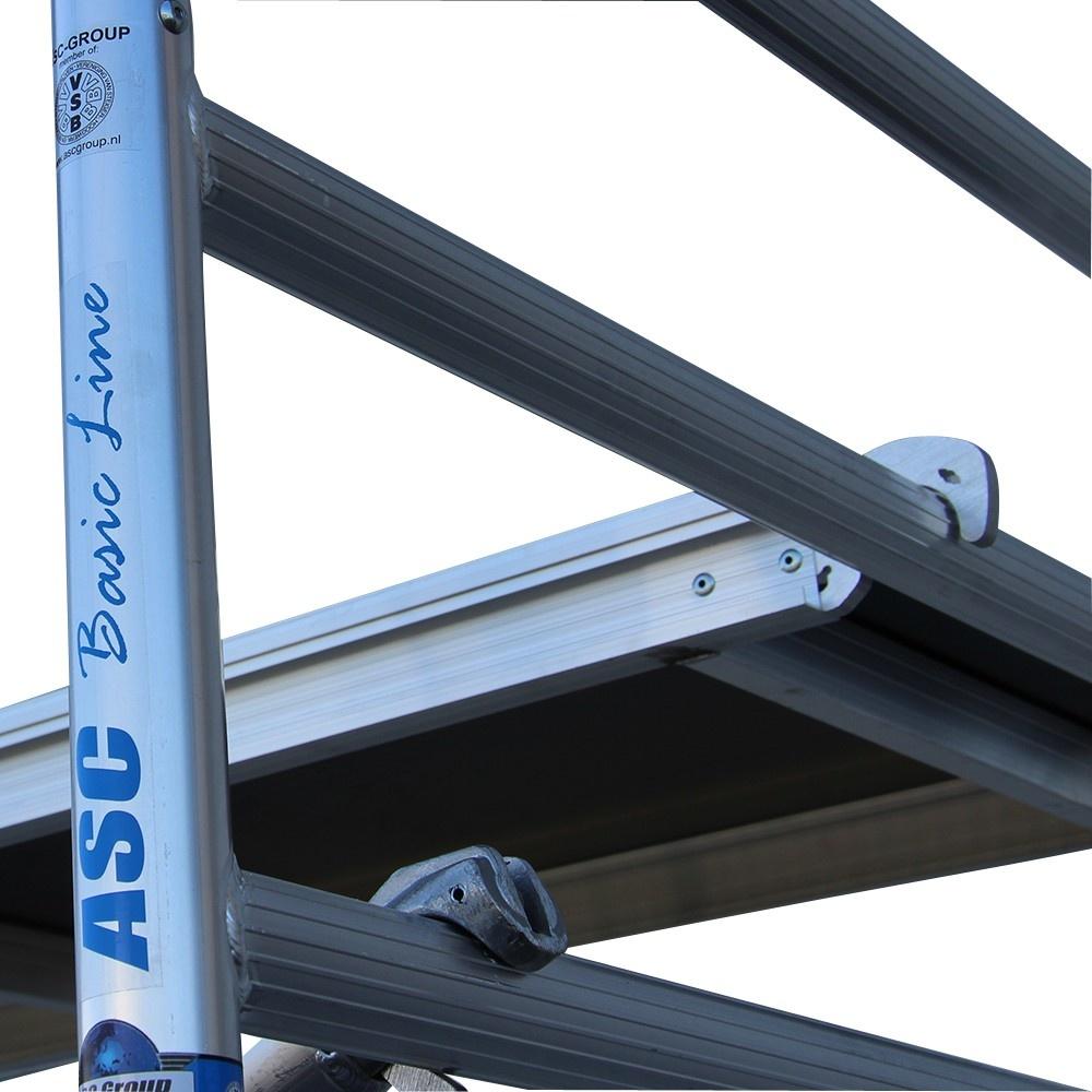 Alumexx Basic-Line rolsteiger werkhoogte 4,3 m (type 0)