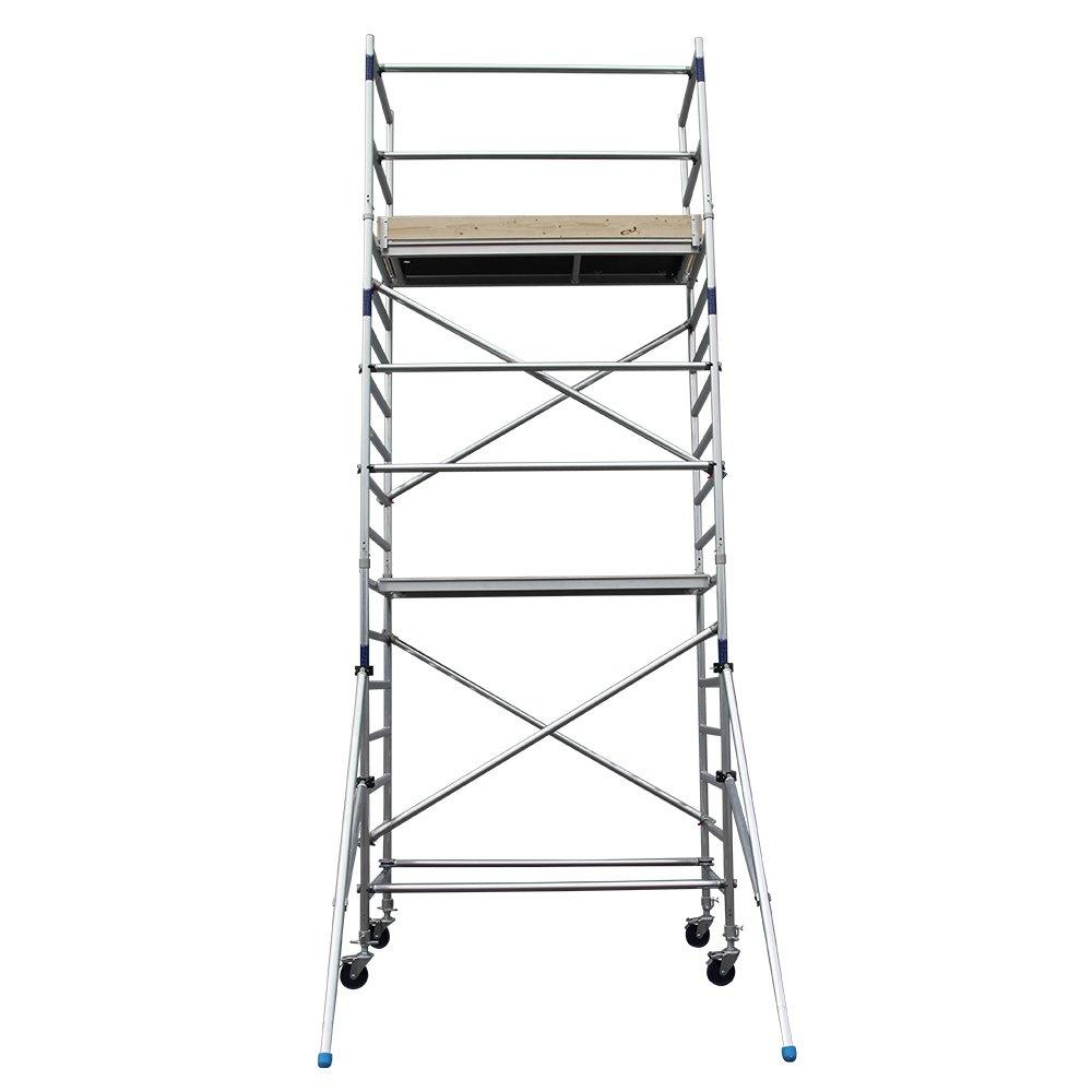 Alumexx Basic-Line rolsteiger werkhoogte 6,3 m (type 2.0)