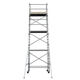 Alumexx Échafaudage roulant Basic-Line hauteur de travail 8,3 m (type 3.1)
