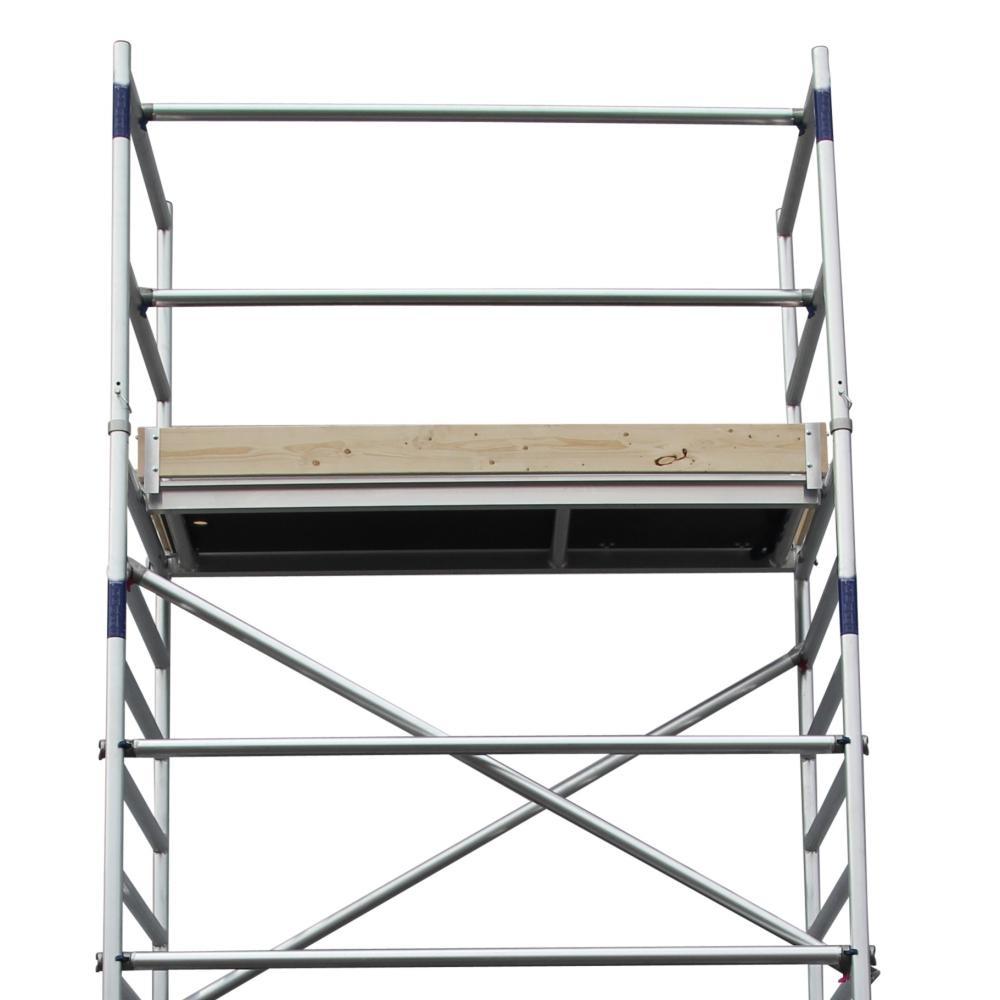 Alumexx Rollgerüst Basic-Line Arbeitshöhe 6,3 m (Typ 1.0)