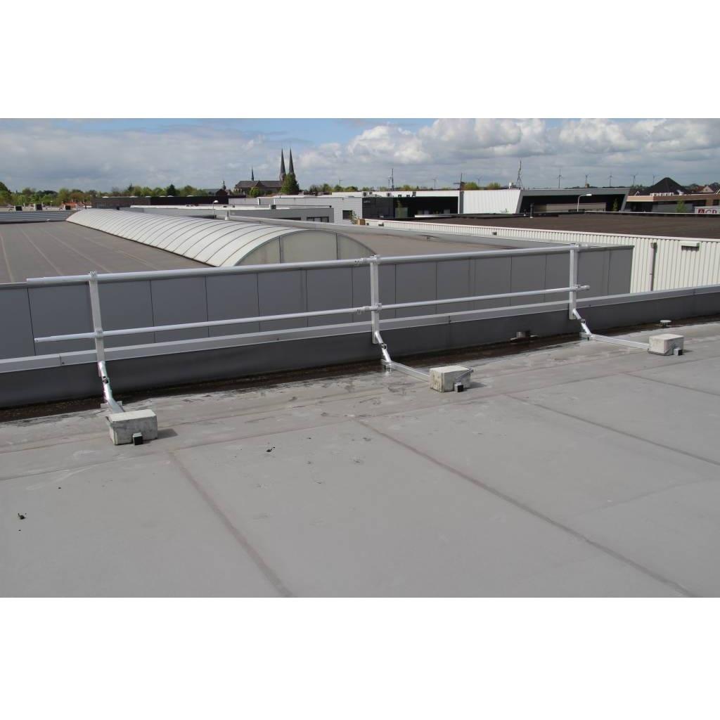 ASC Dakrandbeveiliging plat dak 9 m
